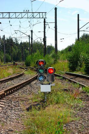 Track and semaphore photo