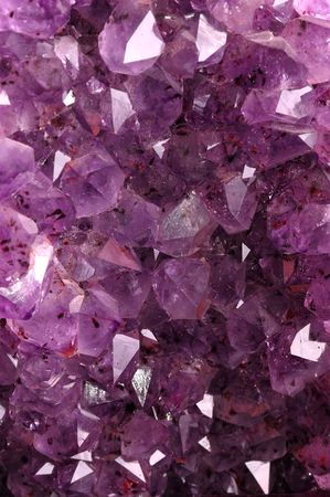 Texture from natural amethyst Stock Photo