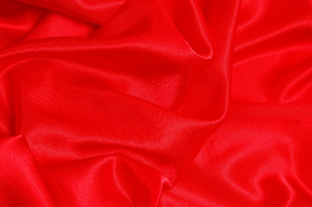 Background from a red fabric