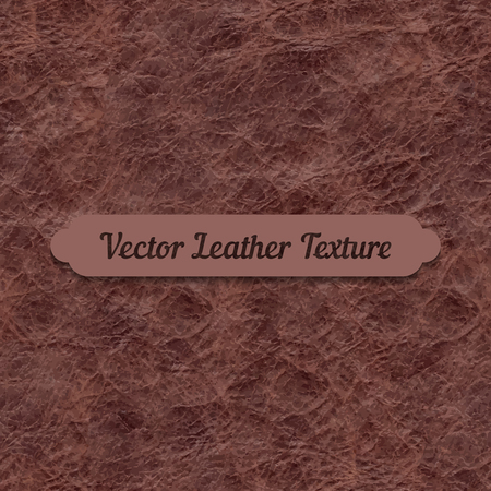 Vector brown crumpled leather texture. Element for your designs, promotional sales and other your projects. Just add your text