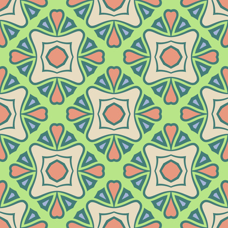 Abstract Vector Seamless Pistachio Color Pattern for Background. Seamless pattern for your design, invitation card, meditation, astrology, fabric and other wrapped projects is in swatches panel.