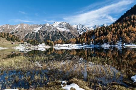 Idyllisch und leicht erreichbar präsentiert sich der auf 1.658m gelegene Duisitzkarsee als eines der beliebtesten Wanderziele in den Schladminger Tauern.