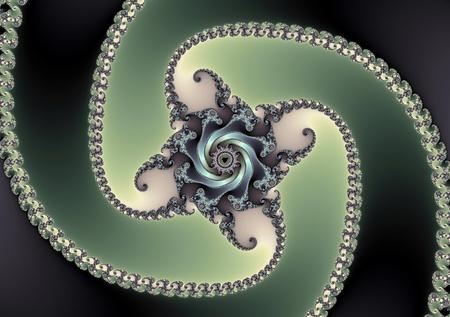 fractal spiral
