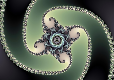 fractals: fractal spiral