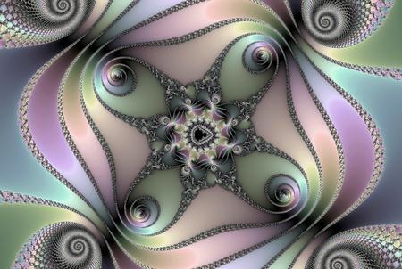 fractal mandelbrot Stock Photo