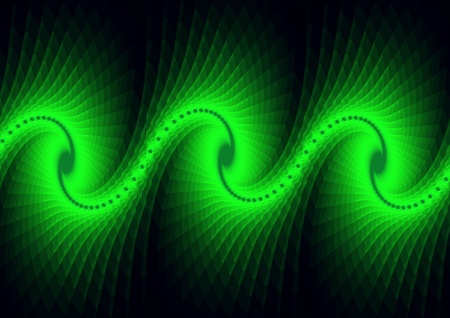 fractal wave Stock Photo