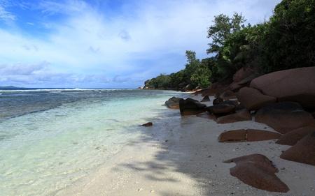 seychelles beach photo