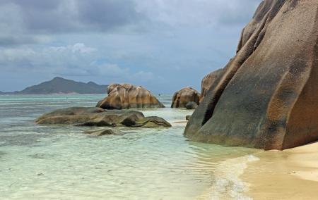 d argent: seychelles beach anse source d argent