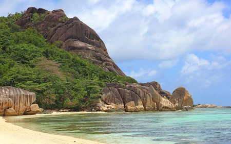 wild beach seychelles