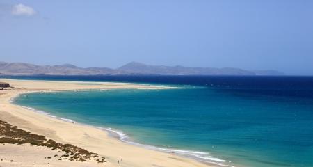 beach of jandia
