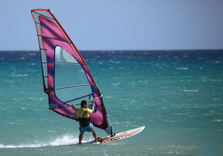 windsurfing: windsurfing Editorial