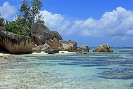 coast beach seychelles Stock Photo - 16212958