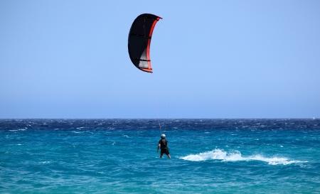 kitesurf: kitesurf Stock Photo