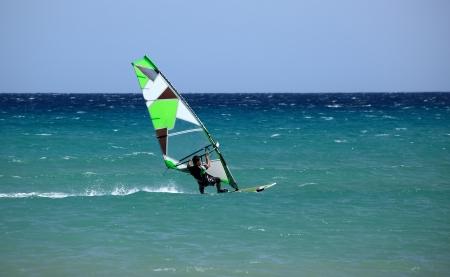 windsurfing: windsurfing Stock Photo