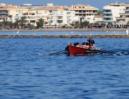 race boat fishing
