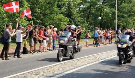 bikers around France Editorial