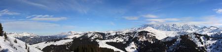 blanc: alps mont blanc