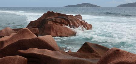 coast of Seychelles