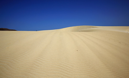 erg: Desert sand Stock Photo