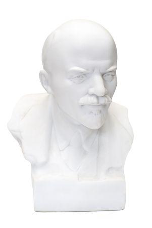 Bust of Lenin, leader of russian proletarian oktober revolution in 1917                photo