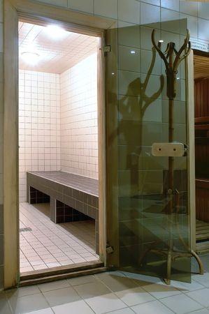 turkish bath: Comfortable turkish bath in new modern hotel
