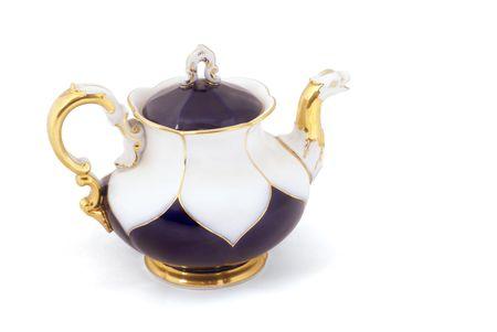 world war two: Famous porcelain from Dresden, German (Mei?ener Porzellan) made just after World War Two               Stock Photo