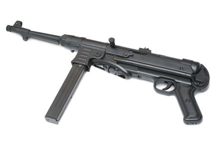 fascism: MP40 German submachine gun. Usually used by submachine gun company supporting tank attacks - World War II period