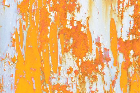 Rusty ages-old metal abstract background for design purpose          Stock Photo - 4598434