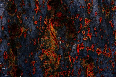 Rusty ages-old metal abstract background for design purpose  Stock Photo - 4646130