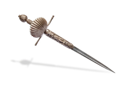 left hand: French left hand dagger. France the beginning of the XVII century. Stock Photo