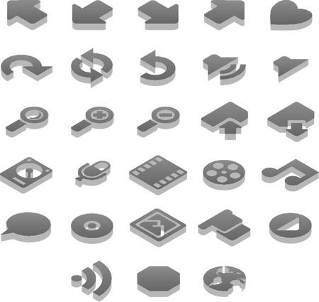 Titanium 3D icons Extras (2 of 2)
