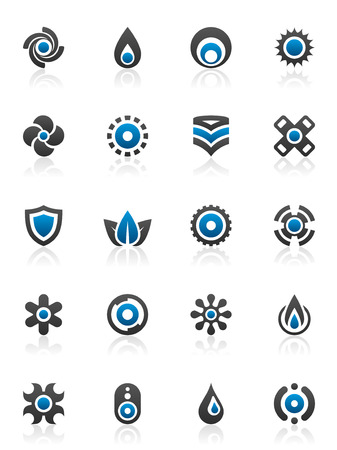 20: Set of 20 design elements and various graphics