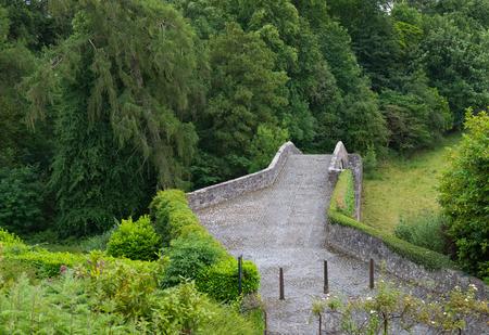 The Old and ancient Bridge or Brigg at Alloway Ayr Scotland