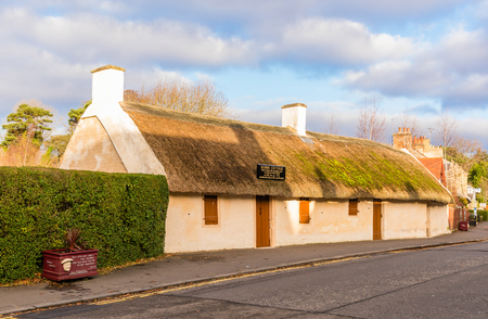 Birthplace of Sir Robert Burns famous Scottish Poet and National Bard