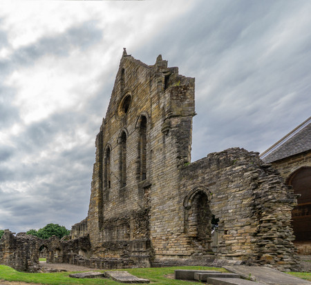 The Old Transept Ancient Ruins Kilwinning Abbey Scotland thought to be dated arround 1160's