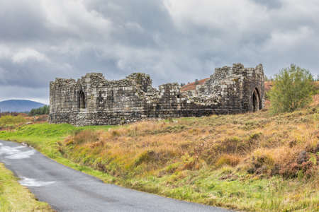 Loch Doon Castle was built by the Bruce earls of Carrick in the late 1200s. It may have been built by Robert the Bruce himself.