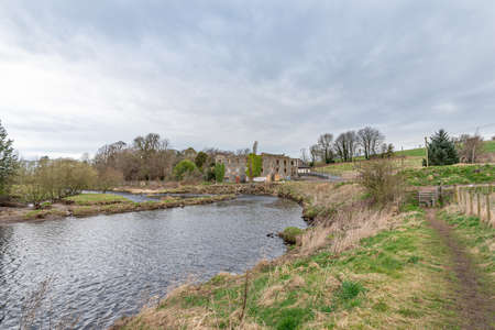 Gatehead, Scotland, UK - March 23, 2021: 