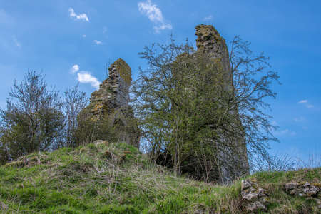 The ancient ruins and the gable end views of the upper buildings of the once impressive structure and impressive ruins are situated about a mile and a half from the village of Craigie and are recognised as one of the earliest buildings in the country and thought to have been the birth place of William Wallace when the castle was owned by his grandfather.