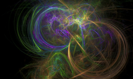 gaseous: Fractal flame series of various nebula cloud conceptualizations