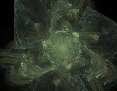 powerful aura: Powerful shield like artifact bursting with energy aura