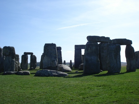 resistence: Stonehenge 4 Stock Photo