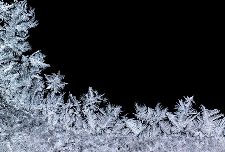 Winter background- close-up of ice