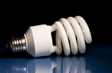 Compact Fluorescent Light Bulb photo
