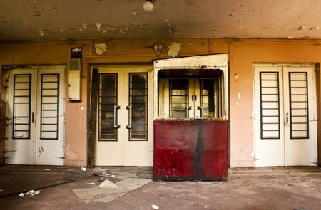 ruined interior, abandoned old building Stock Photo - 4950822