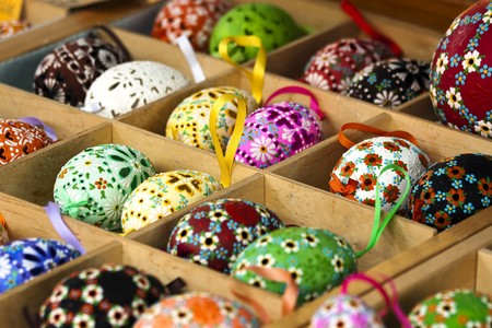 imitations: Colorful easter Eggs for sale