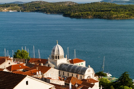 Cathedral of St. Jacob, Sibenik, Croatia, photo