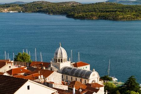 jacob: Cathedral of St. Jacob, Sibenik, Croatia,