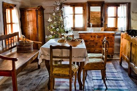 slovakia: Vecchia stanza in agricoltore