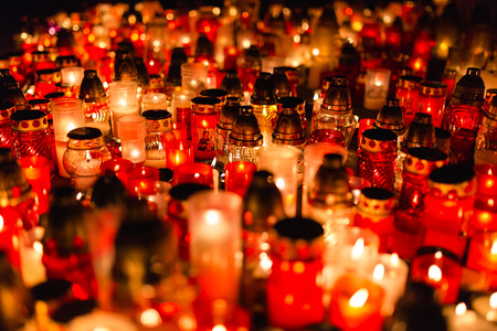 saints: All saints - remembrance day, graveyard