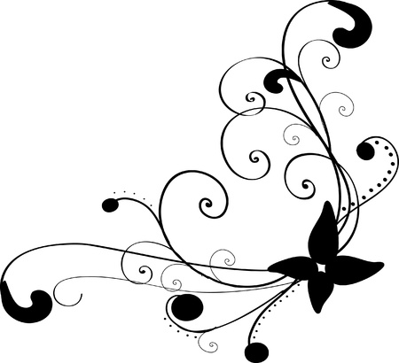 Floral pattern (vector)